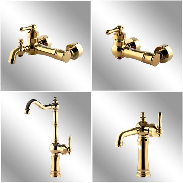 4 pcs set faucet